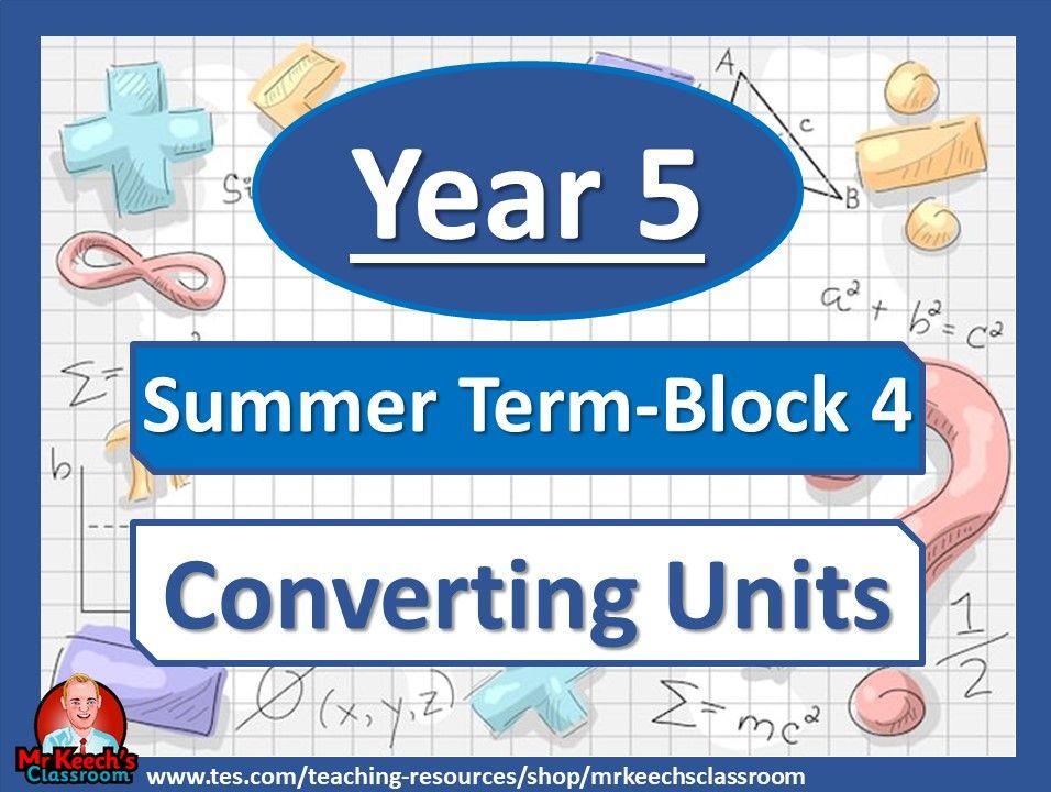 Year 5 - Converting Units - Summer Block 4 - White Rose Maths