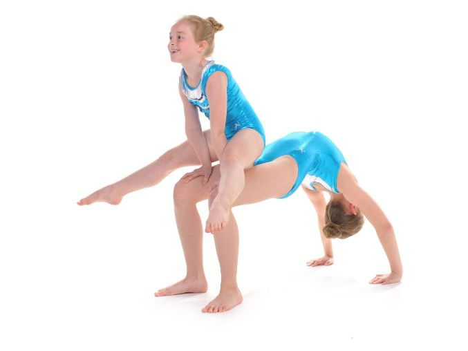 Pair and Trio Gymnastics - Bridge Balances By Head Over Heels Gymnastics