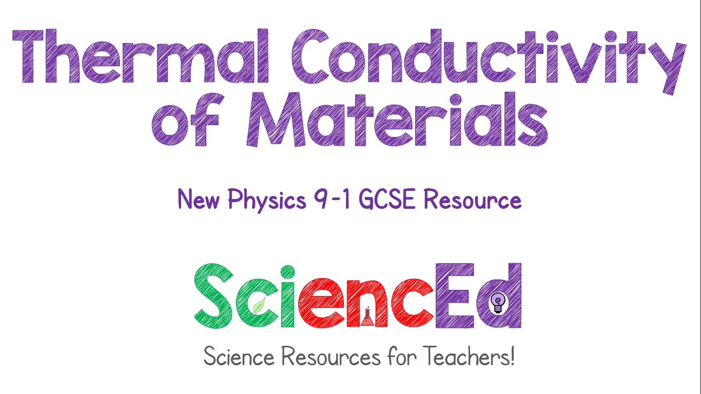 Thermal Conductivity of Materials  by SciencEd