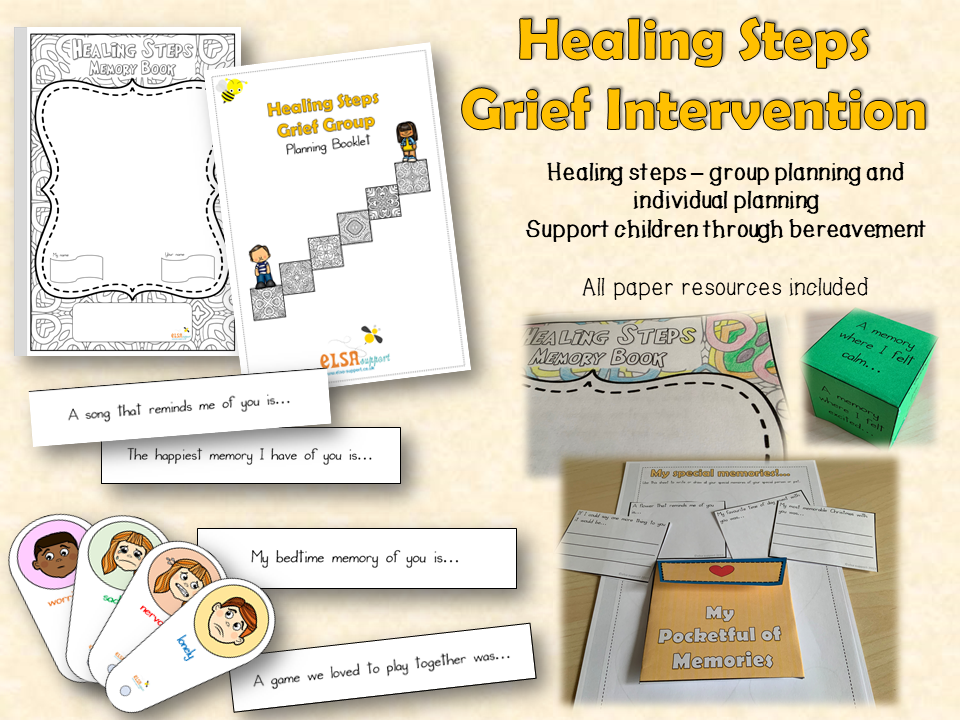 Healing Steps - Grief Intervention for bereavement