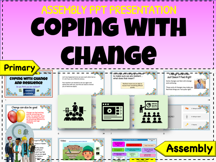 Assembly - Coping with change - Recovery Curriculum