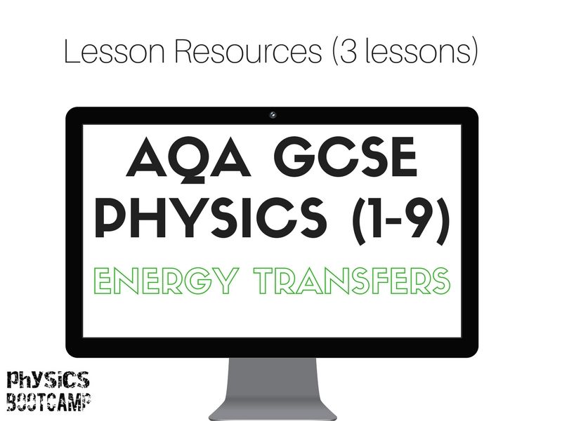 AQA GCSE Physics (1-9) Electricity - Energy Transfers resources (3 lessons)