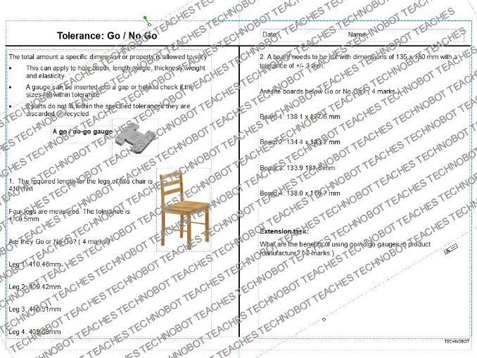 Go_No-Go Worksheet