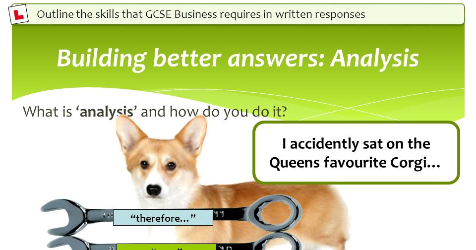 GCSE Business Exam Skills Lessons