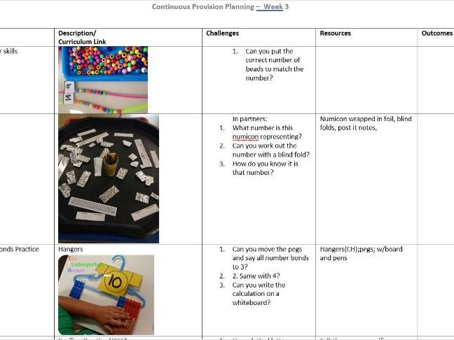 Transition from EYFS to Y1 - Continuous Provision plans and resources for 6 weeks (Whole Term!)