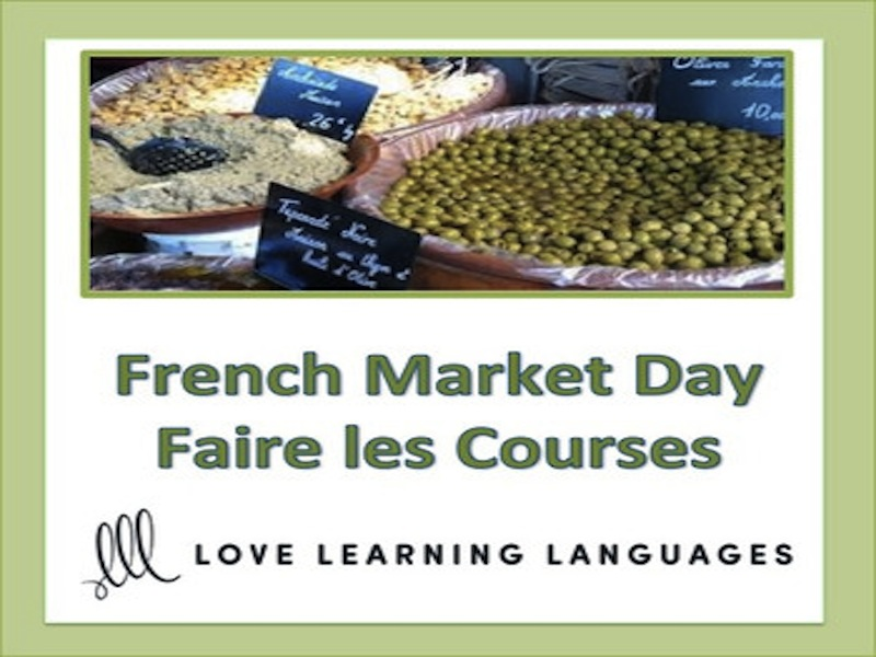 GCSE FRENCH: French Food Unit: Allons au Marché !