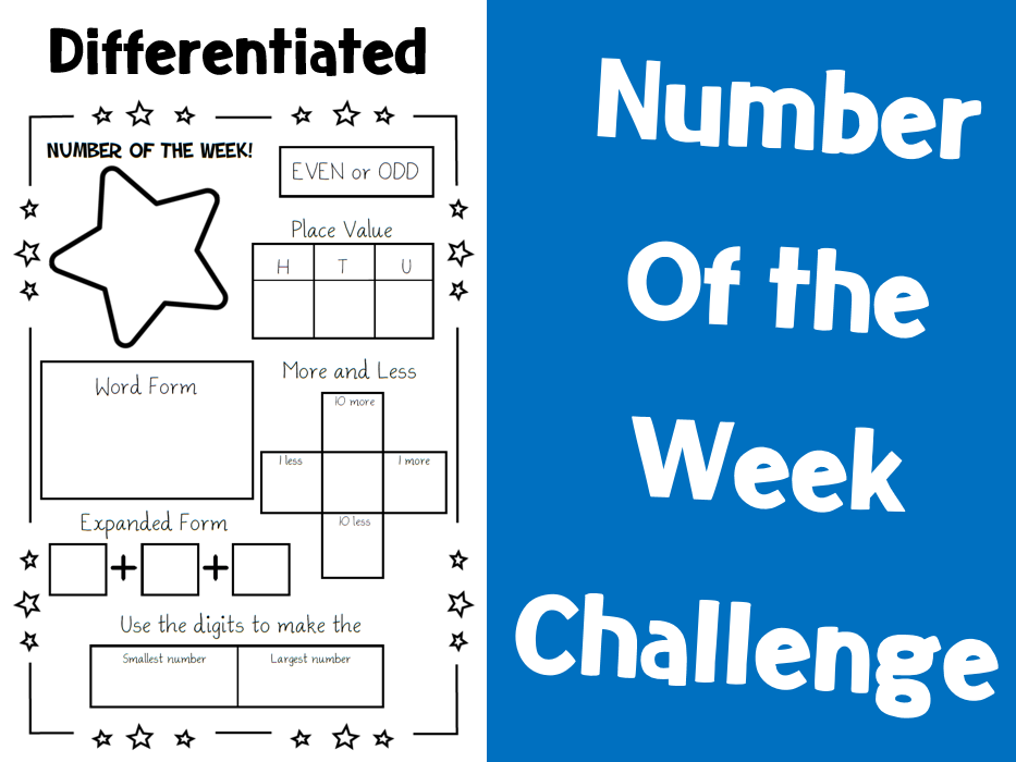 Number of the Week Challenge