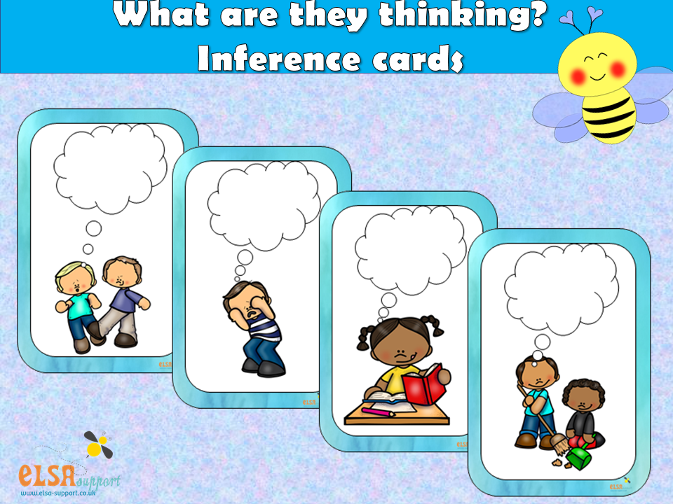 ELSA SUPPORT What are they thinking? - Inference, PSHE, Social and Emotional learning
