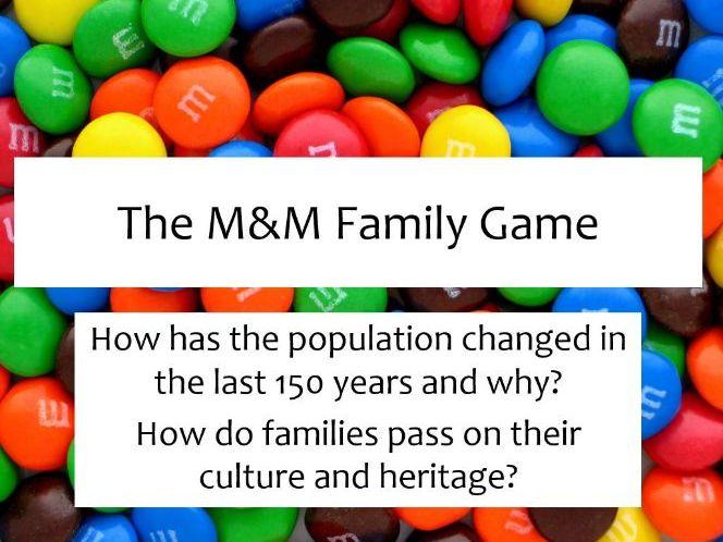 M&M Family Game