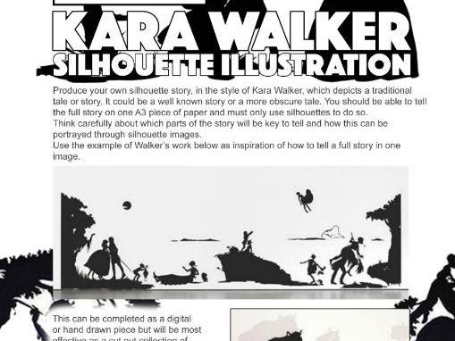Art & Design Cover Lesson - Silhouette Folktales
