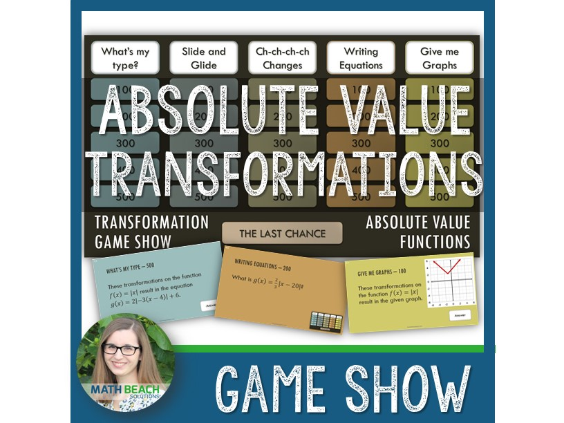 Absolute Value Transformation Game Show