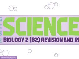Biology stem cells, division B2 presentation & activity sheet