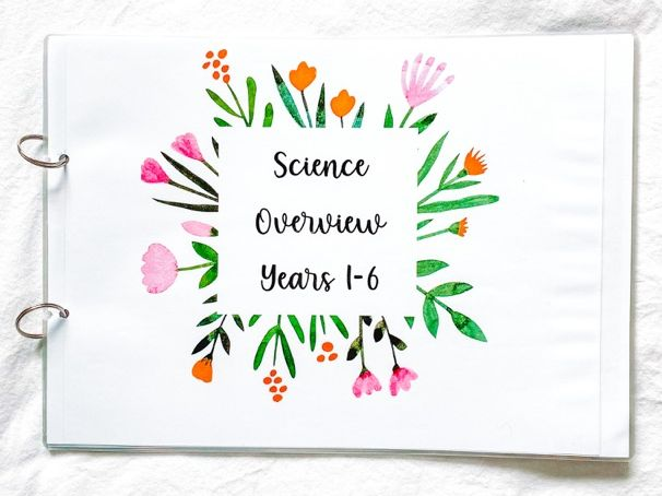 Science National Curriculum Overview