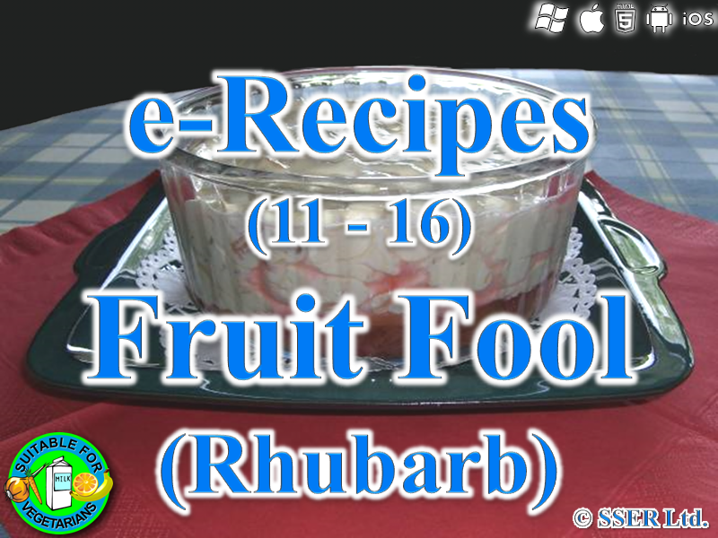 13. Fruit Fool (e-Recipe)