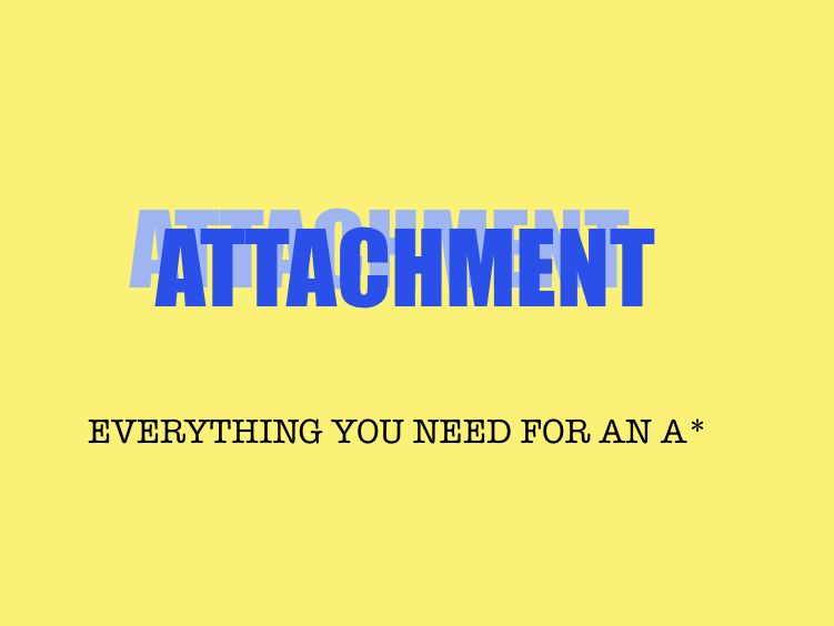 Attachment- AQA A Level Psychology
