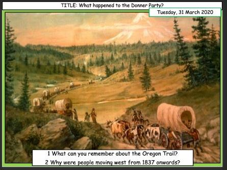 The Donner Party (American West Edexcel)