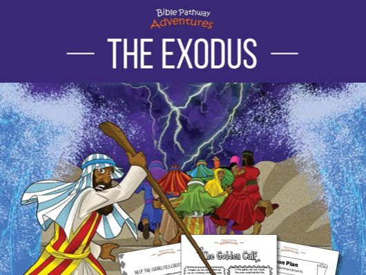 The Exodus Coloring Activity Book & Lesson Plans