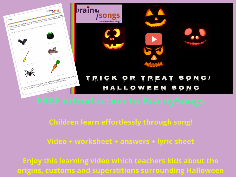 Learn about Halloween - Samhain - Activity for Kids