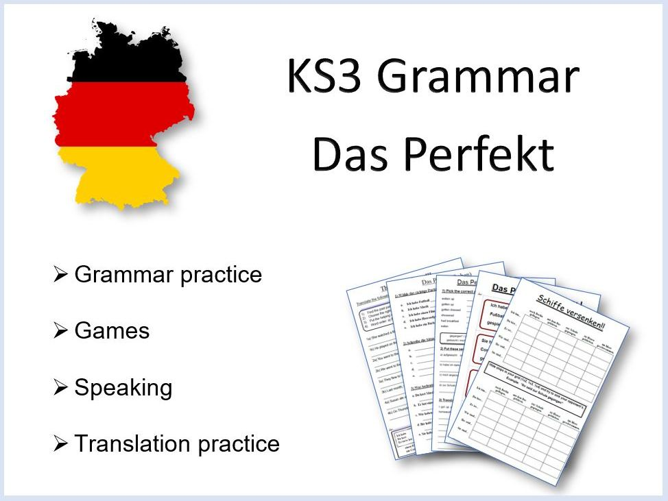 German KS3 Grammar Das Perfekt