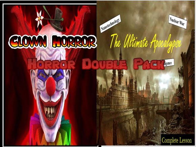 Horror Double Pack 2 - Creative Writing