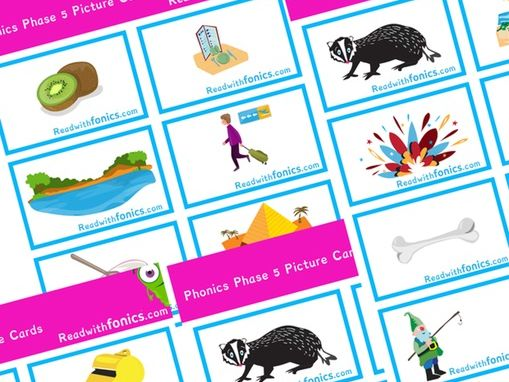 Phonics Phase 5 Picture Flashcards | Phonics Resources | Letters and Sounds