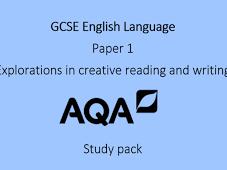 AQA English Language Complete Paper 1 - November 2017