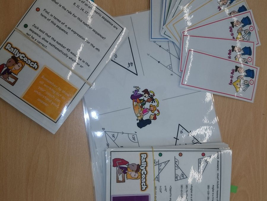 Outstanding Active/Cooperative Learning in Maths Activity Cards