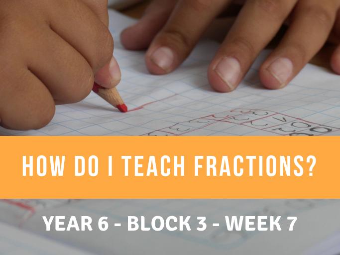 Fractions  Year 6 Block 3 Week 7