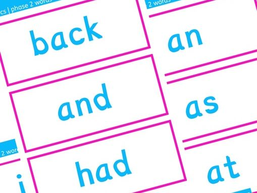 Phonics Phase 2 Decodable Word Flashcards | Letters and Sounds