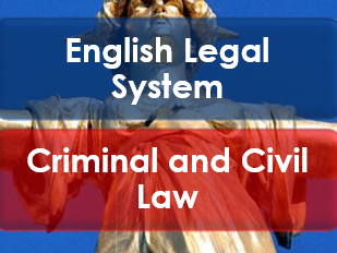 Citizenship: English Legal System: Criminal and Civil Law