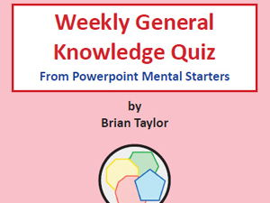 General Knowledge Quiz A : 40 Quizzes