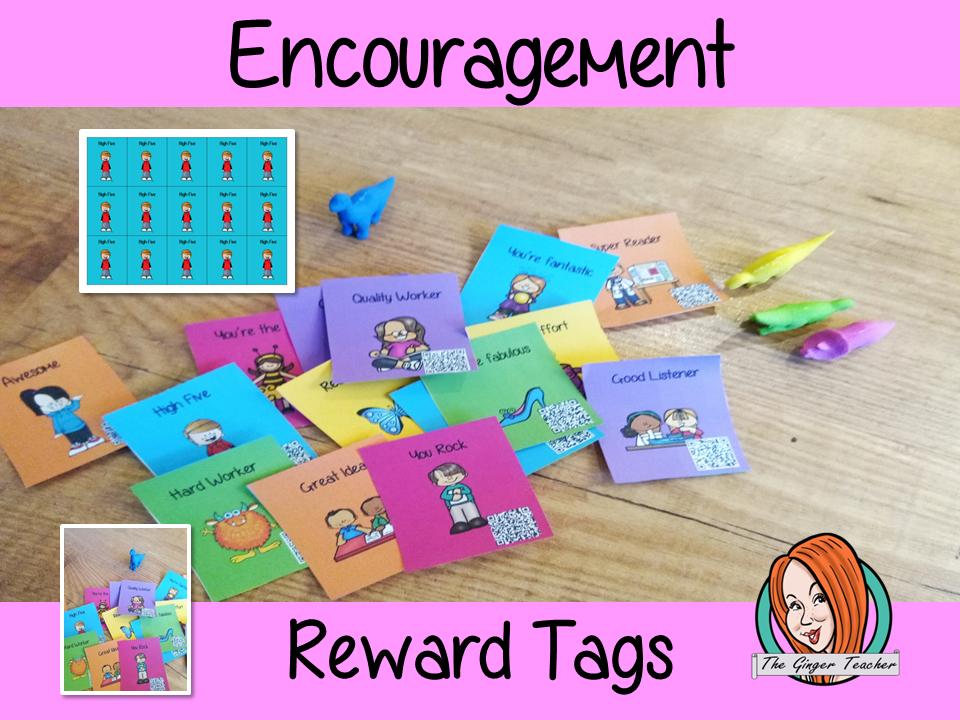 Encouragement and Motivational Reward Tags