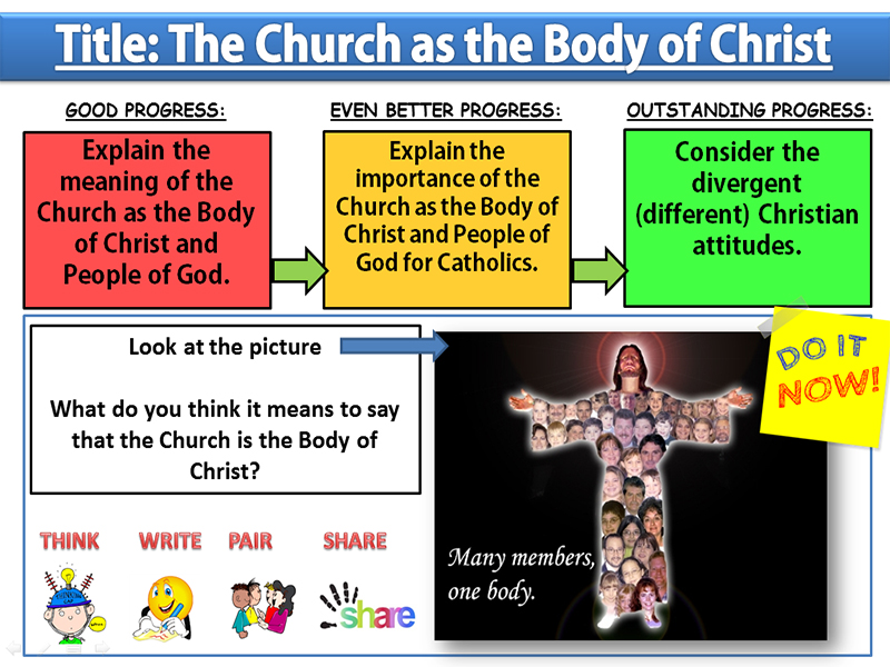 The Church as the Body of Christ: Lesson 5 - Sources of Wisdom and Authority