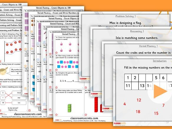 FREE Year 1/2 Mixed Age Autumn Block 1 Step 1 Lesson Pack