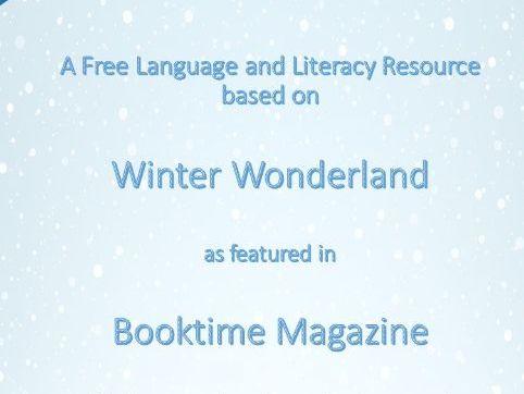 Winter Wonderland (Lit. & Lang. Dev. Resource)