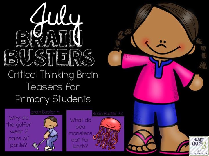 July Brain Busters
