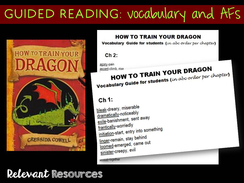 How to Train Your Dragon: Guided Reading