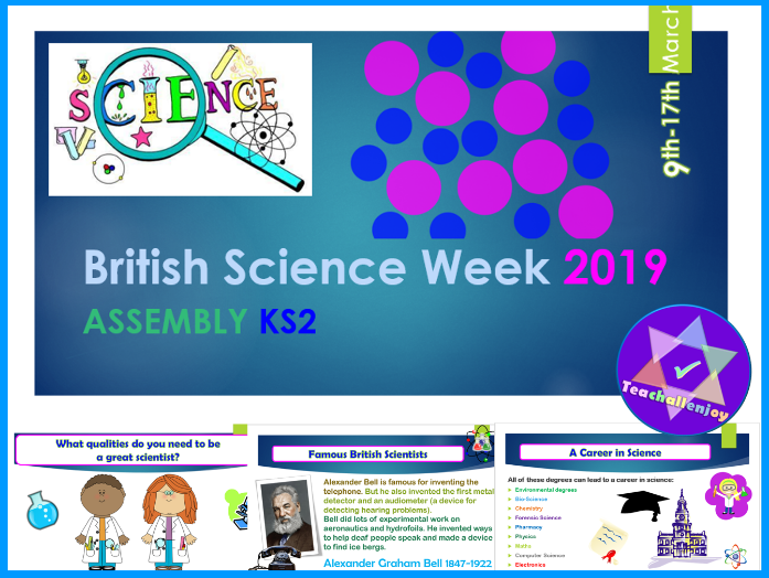 British Science Week 2019 KS2 Assembly