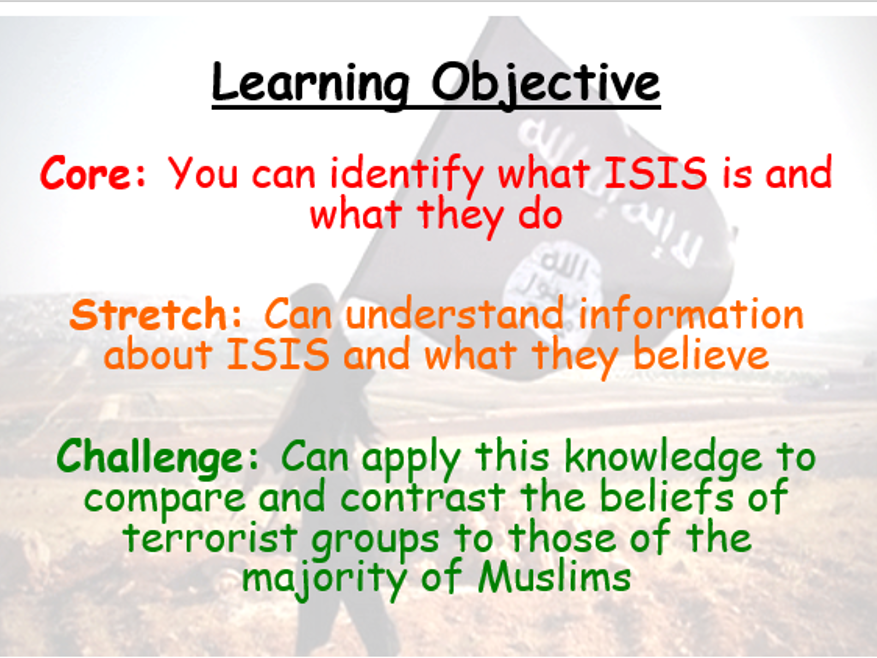 Citizenship Lesson on ISIS