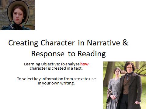 Jane Eyre-Analysis & Response to Reading