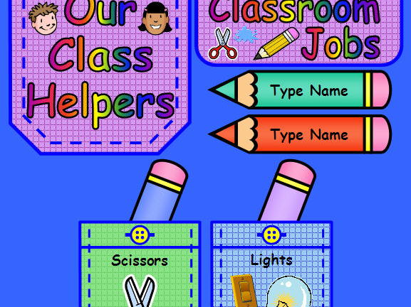 Class Jobs Display Pack