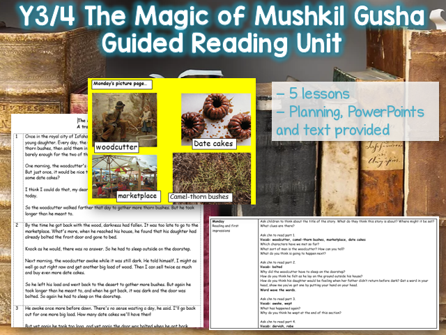 The Magic of Mushkil Gusha Reciprocal Reading Unit