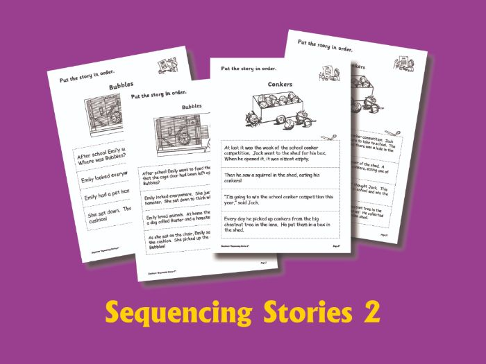 SEQUENCING STORIES BOOK 2