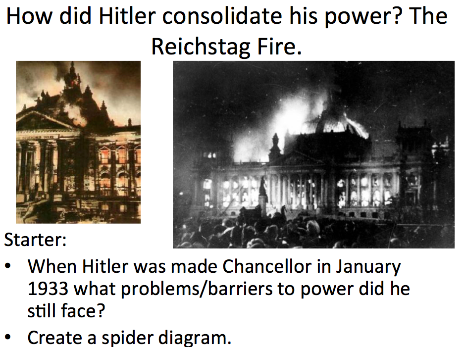 history the rise of hitler