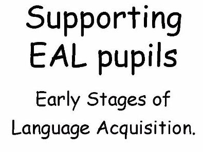 EAL leaflet to support teachers