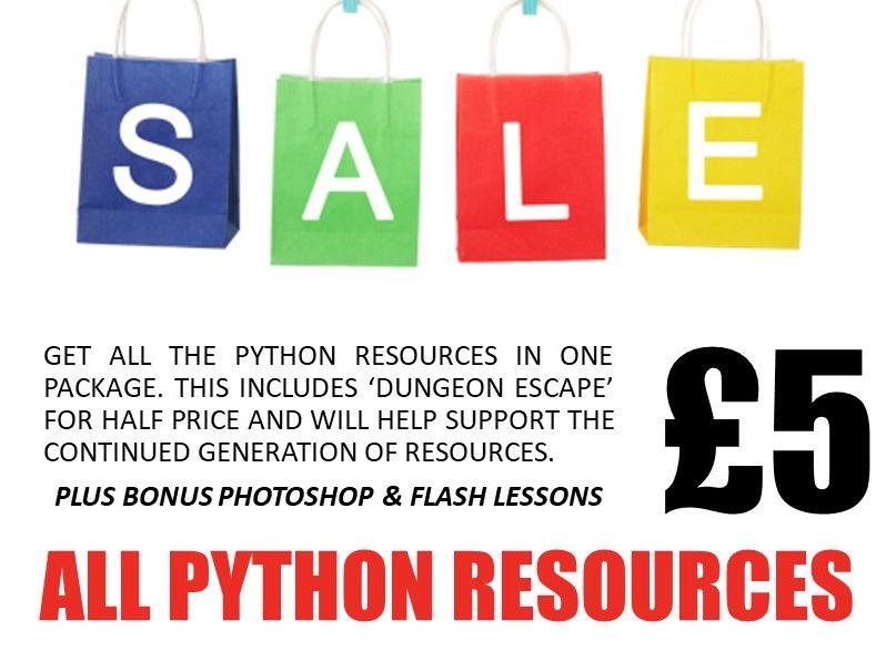 Python Bundle - May Sale