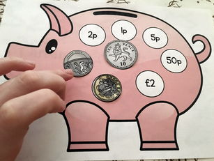 UK Coins Piggy Bank Matching