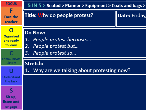 Why do people protest?