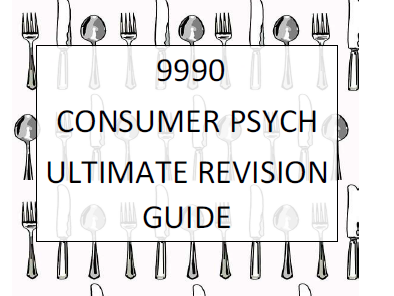 SUPERB Consumer Psych Booklet 9990 CIE