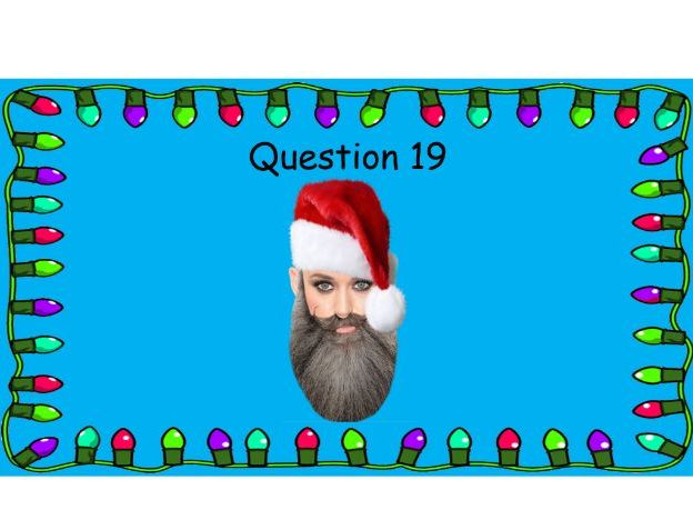 An Awesome Christmas Quiz 2018 - Santa Who? (1)